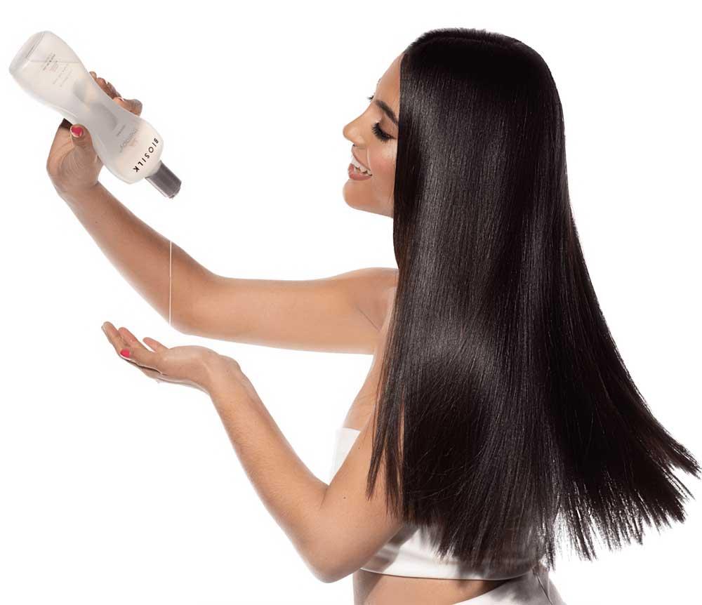 ابریشم سازی مو وز و فر
