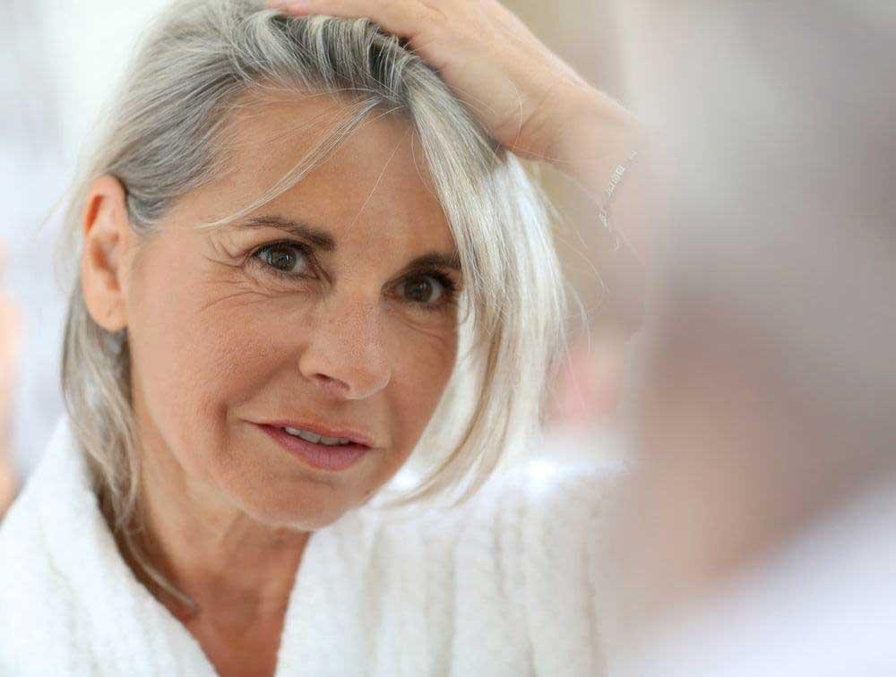 ریزش مو در سنین یائسگی