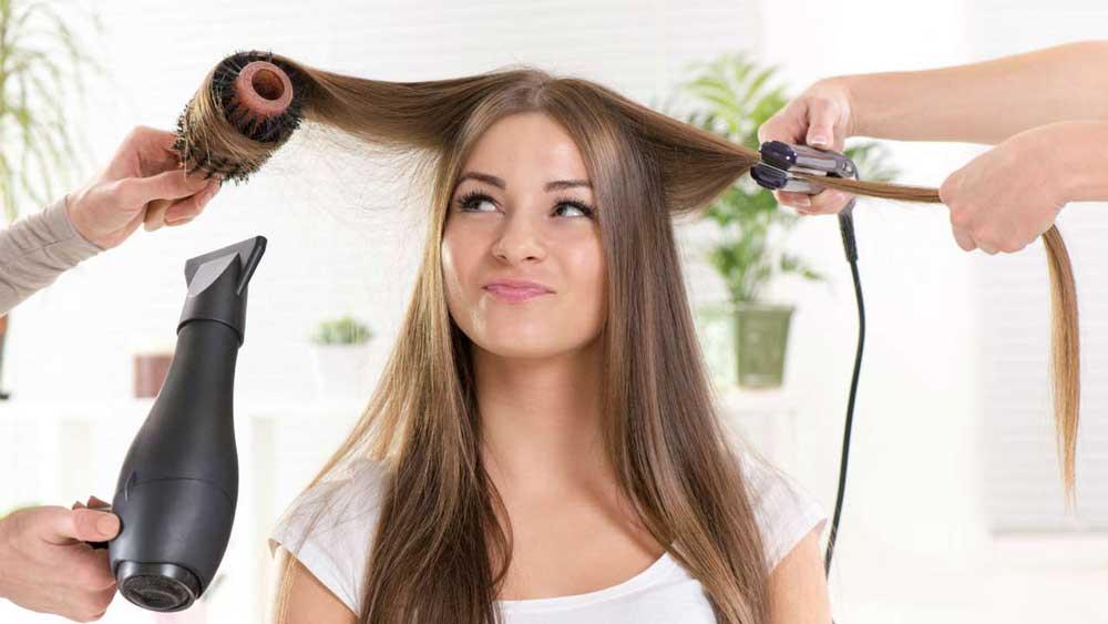 درمان موی دکلره شده