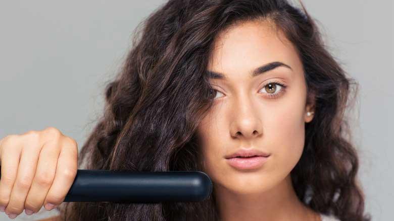 روش های صاف کردن موی فر