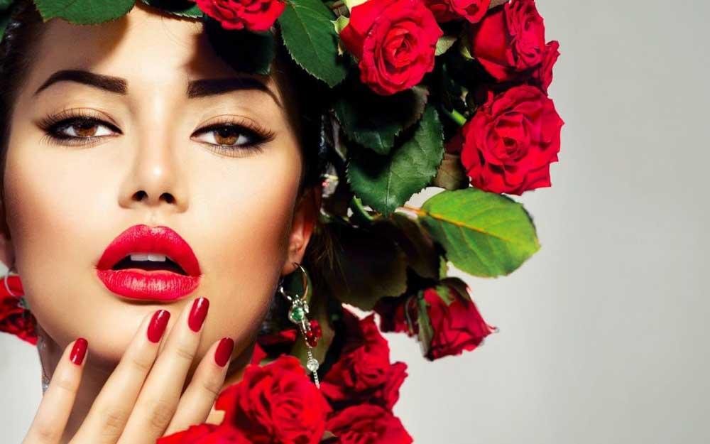 روغن گل سرخ برای مو