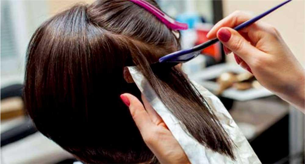 عوارض رنگ موی شیمیایی