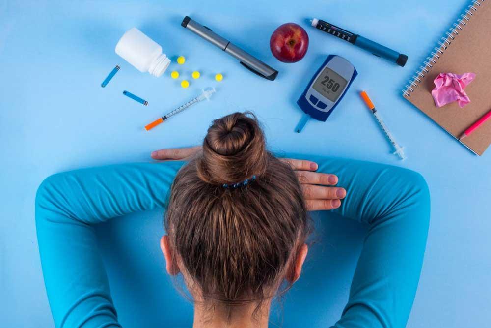 ریزش مو در بیماران دیابتی