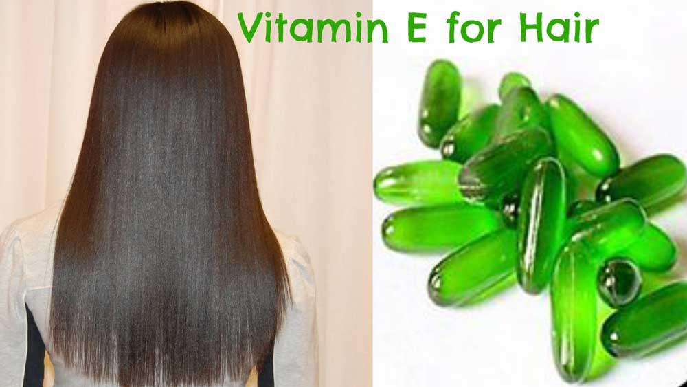 روش استفاده از ویتامین E برای مو