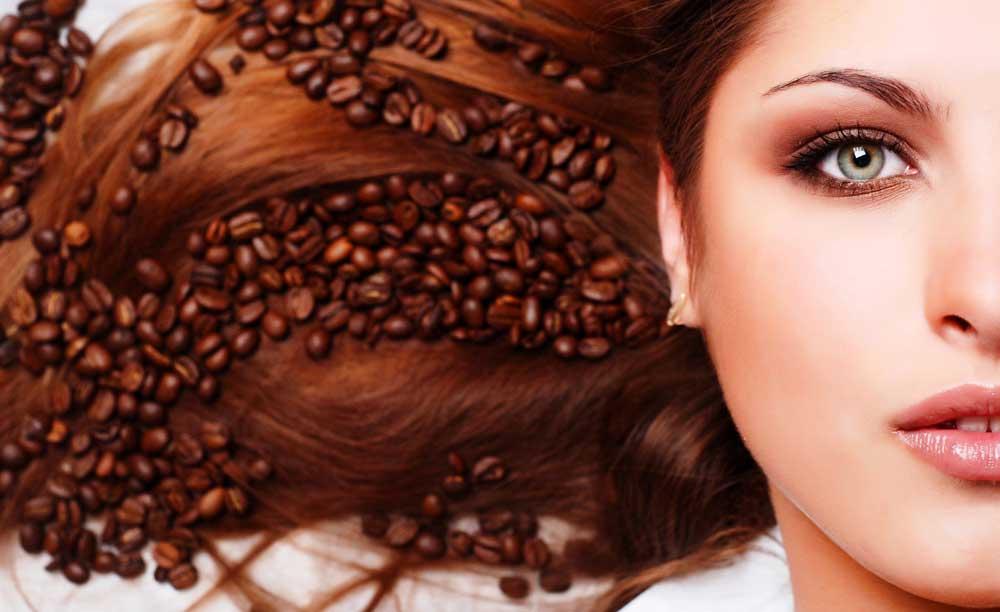 رنگ کردن موها با قهوه