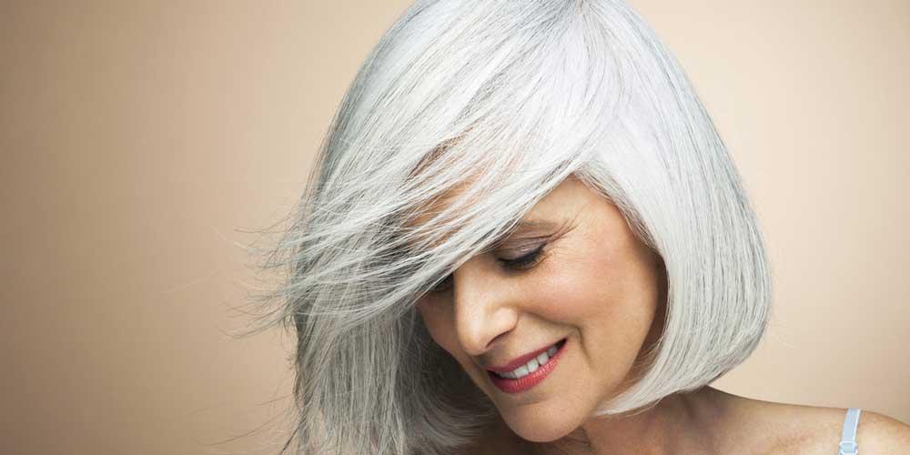 کم پشت شدن موی سر سفید
