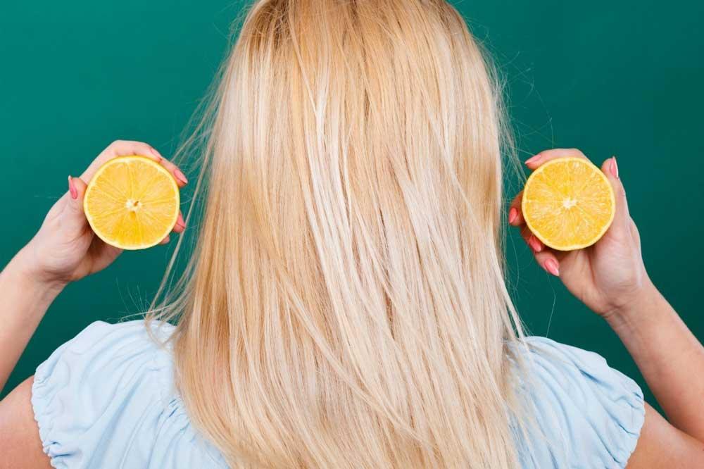 تغییر رنگ موها با آبلیمو
