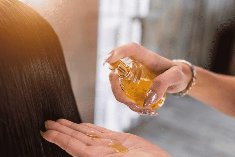 تقویت ریشه مو با روغن های گیاهی